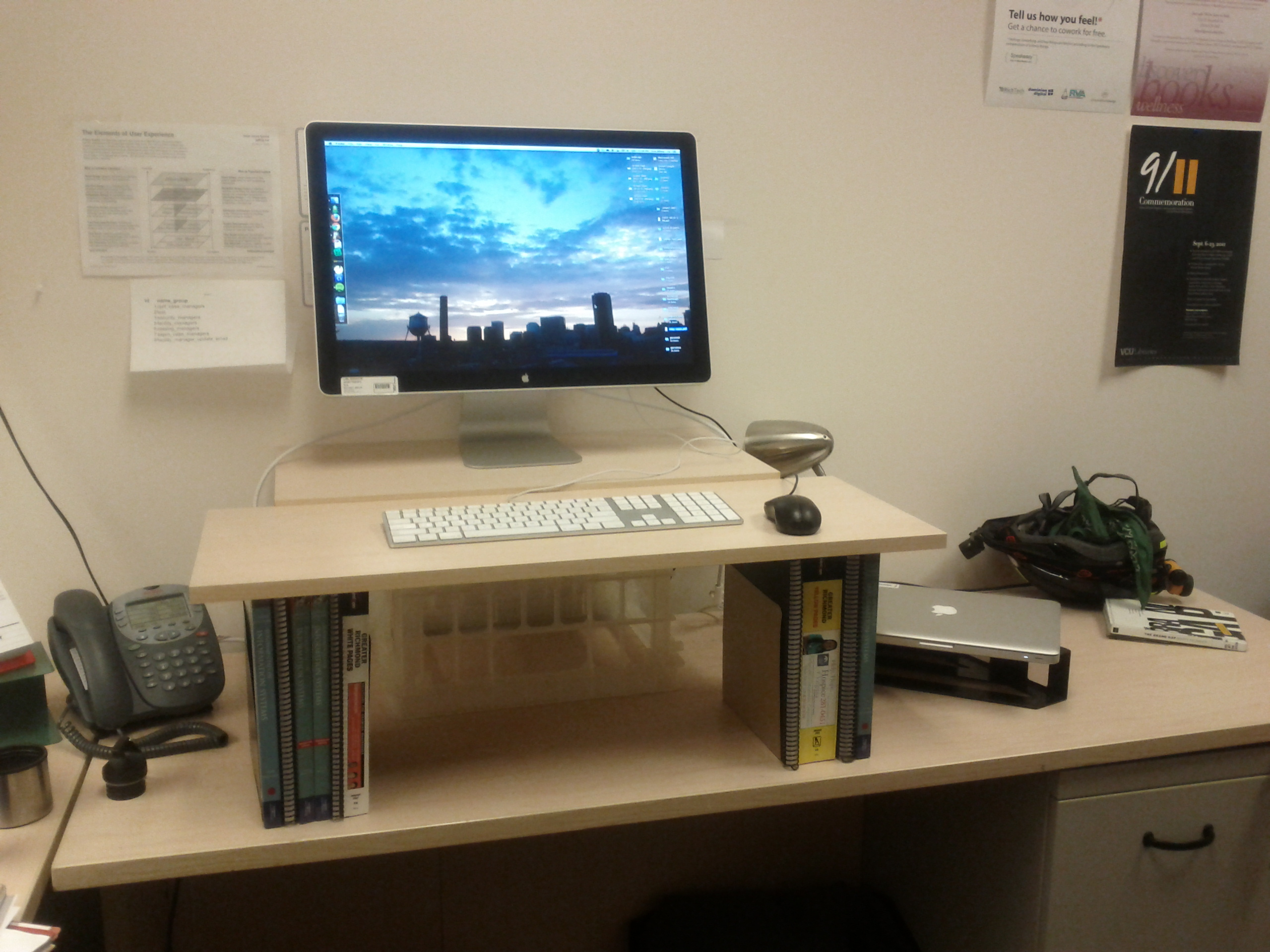 Diy Standing Desk Erin White